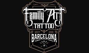family art tattoo barcelona logo