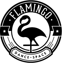 escuela baile barcelona flamingo dance space logo