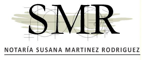 notarias barcelona susana martinez rodriguez logo